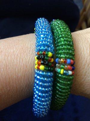 Braccialetto multicolore Materiale sintetico