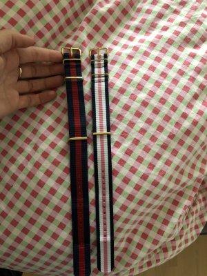2 Bänder für eine Armbanduhr