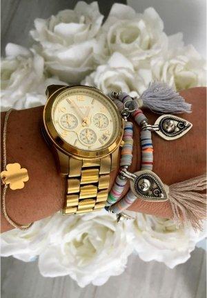 2 Blogger Armband Perlenschmuck  Armreifen Blogger Schmuck Pastell mit Emblem