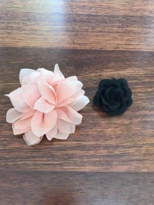 2 Blumen Haarklammern