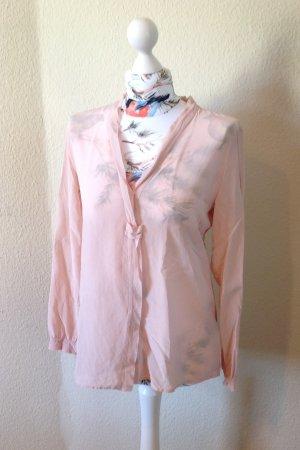 2 Blusen (weiß und rosa)