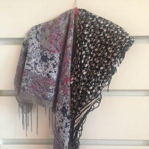 2 bunte Schals/Tücher