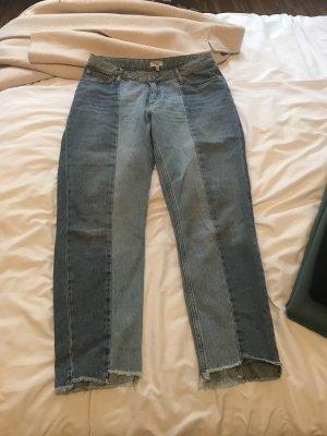 Jeans a vita alta multicolore
