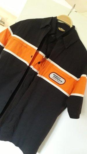 Harley Davidson Camicia a maniche corte multicolore Cotone