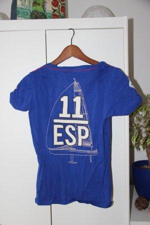 2 Gaastra T-Shirts in Blau und Grün in M und L