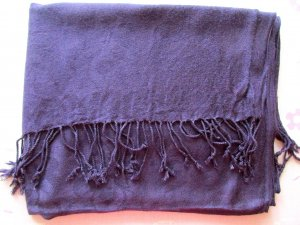 2 große Damentücher, Damenschal, Damen Tuch, Schal, Lila, Hellgelb, Weiß