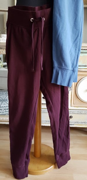 2 H&M sweat Pantys Bordeaux und Blau Gr M