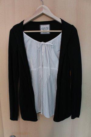 2-in-1 Bluse von Esprit (schwarz und weiß)