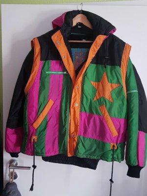2 Jacken in one mit Rücktasche