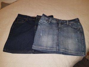 2 Jeans -Miniröcke Gr. 36-38 eine von Laura Scott