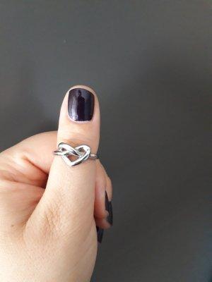 2 Jewels Edelstahl Love Knott Ring aus Italien,  Gr. 58
