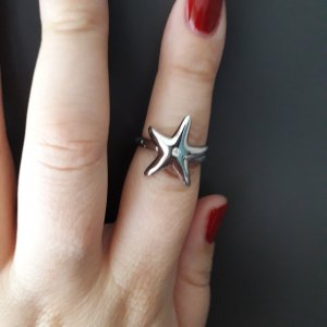 2 Jewels Edelstahl Ring aus Italien,  Gr. 16