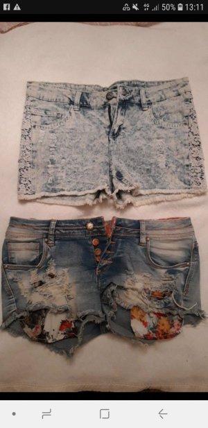 Shorts azzurro-blu