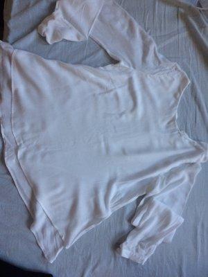 2-lagige weiße Bluse von Patricia Pepe, 96 Viskose, wie neu!!