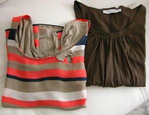 2 Langarm Shirts im Set, TURNOVER und GDM, Gr.36