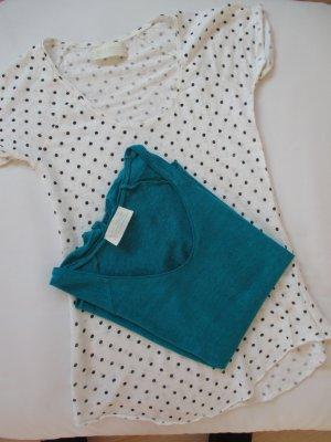 2 Leichte Leinen-Shirts Zara Women