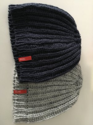 Esprit Cap dark blue-light grey