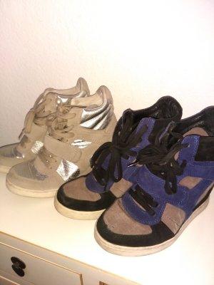 2 paar ash sneakers mit Keilabsatz in 38