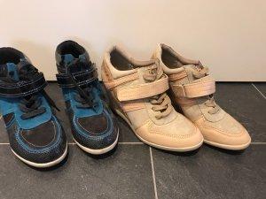 2 paar high Sneaker gr 40