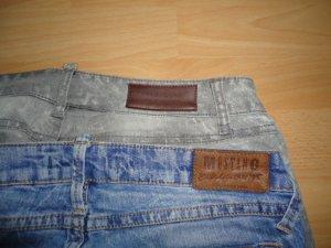 2 Paar Jeans (Mustang (Blau) und Mango (Grau)