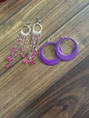 2 Paar Ohrringe