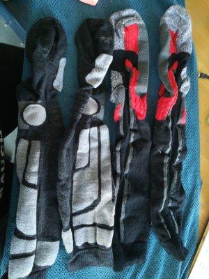 Robe de chambre multicolore