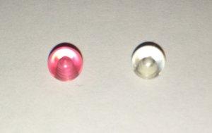 2 Piercingkugeln Kunststoff, bunt