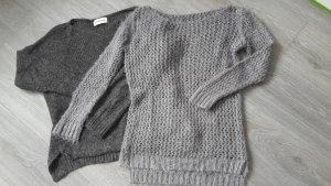 2 Pullover, grau und taupe, Gr.34, wie neu!