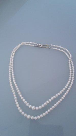 Collana di perle oro-bianco Oro