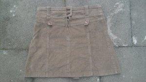 2 Röcke A-Form durchgeknöpft Jeans Feinkord Gr 36 only u.a