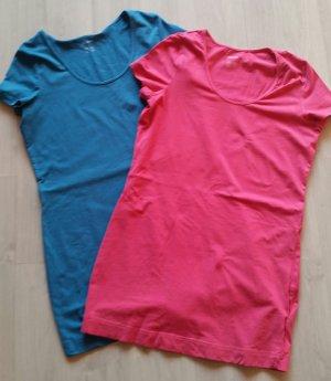 2 schöne Esmara Long Shirts Gr. L