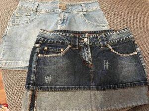 2 schöne Jeans Röcke