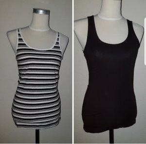 b.p.c. Bonprix Collection Shirt wit-zwart