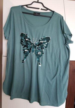 2 Shirts Glitzer Look Gr.44/46. NEU