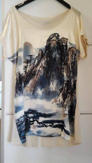 2 Shirts mit Print