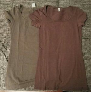 2 shirts vero moda gr.s braun olive