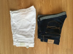 2 Shorts // Jeans // Abercrombie&Fitch, Bershka // Gr. 36