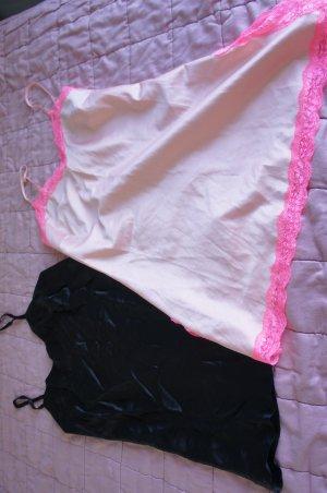 Guess Top negro-rosa claro