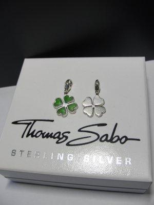 Thomas Sabo Pendentif argenté-vert argent