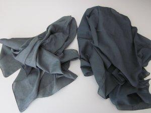 Halsdoek donkergroen-groen-grijs Katoen