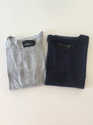 2 super slim fit shirts Zara Gr L