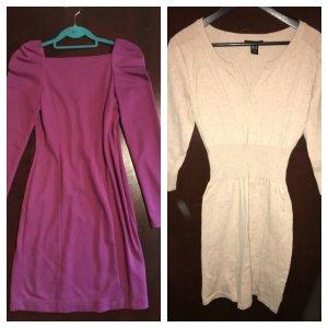 2 taillierte Kleider