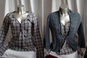 2 Teile 1 Preis Bluse von Mexx Gr.36 Strickjacke von Esprit Gr. S