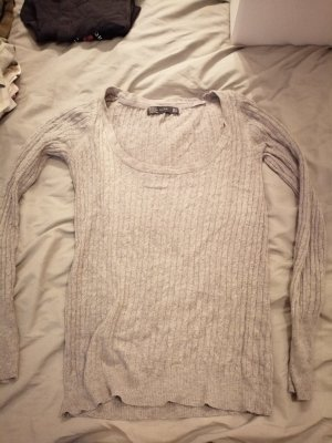Zara Sweater grey-red
