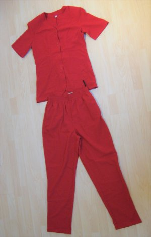 2-teilige rote Sommerkombi