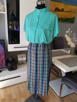 Vintage Midi Skirt turquoise-cadet blue