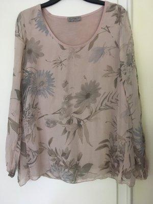 Sweat Shirt pink-light grey