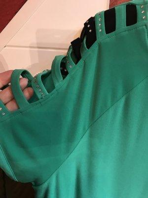 2 Tia Long/Shirts , gleiche Machart , grün und schwarz jeweils einfarbig,