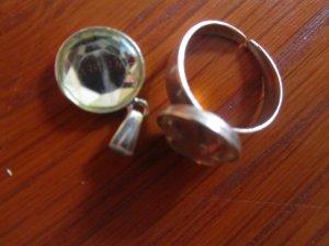 2-tlg. Set aus 925 Silber