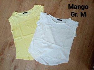 2 tolle T-Shirts von Mango